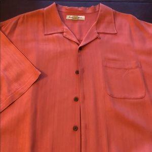 Tommy Bahama Silk Men's XL textured wooden button